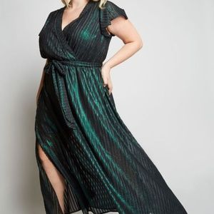 Modcloth Your Time to Shine Maxi Dress Green
